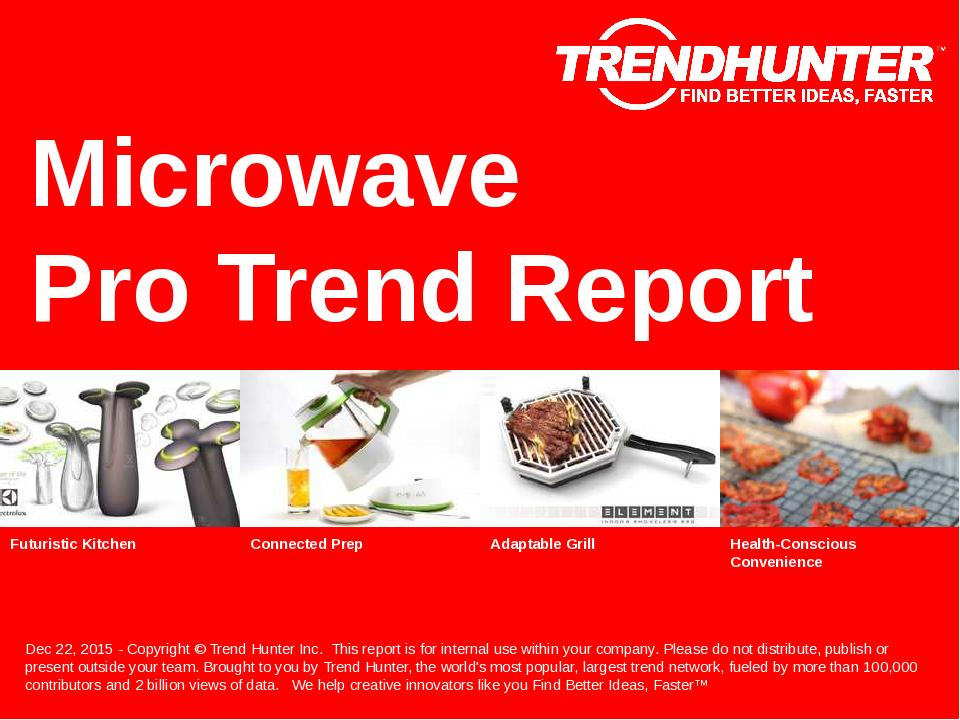 Microwave Trend Report Research