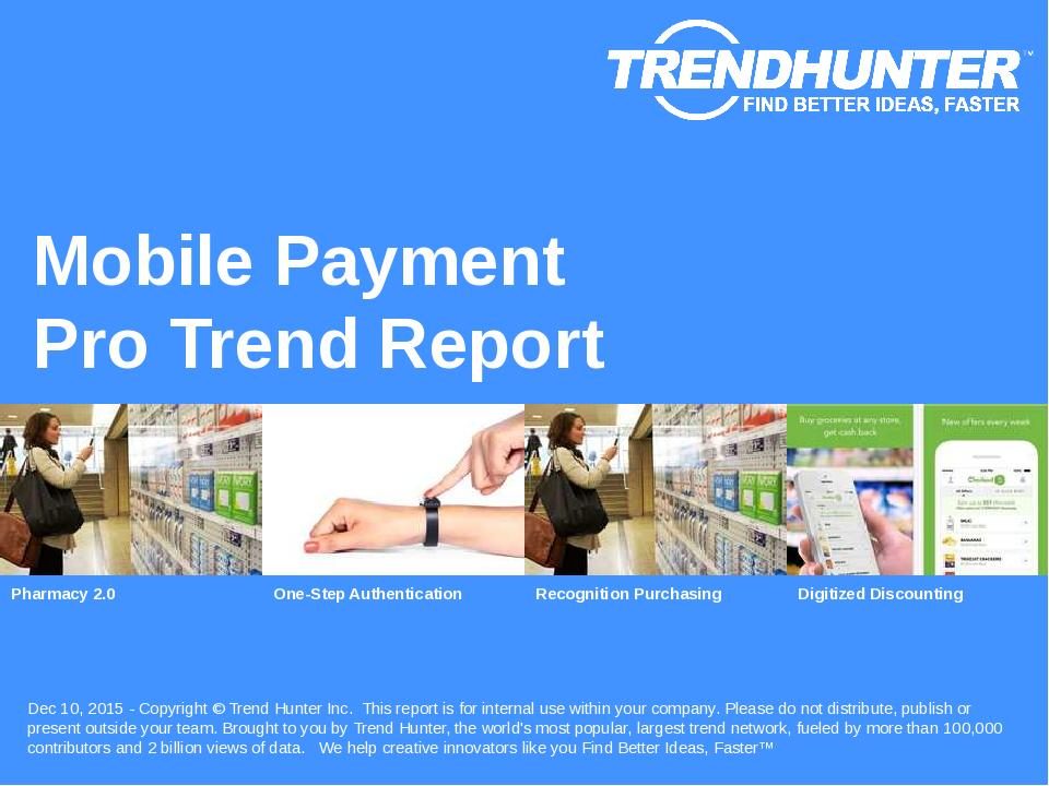 Mobile Payment Trend Report Research