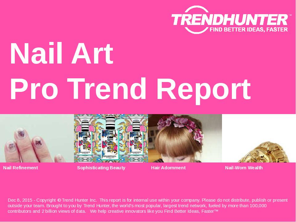 Nail Art Trend Report Research