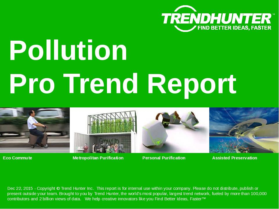 Pollution Trend Report Research