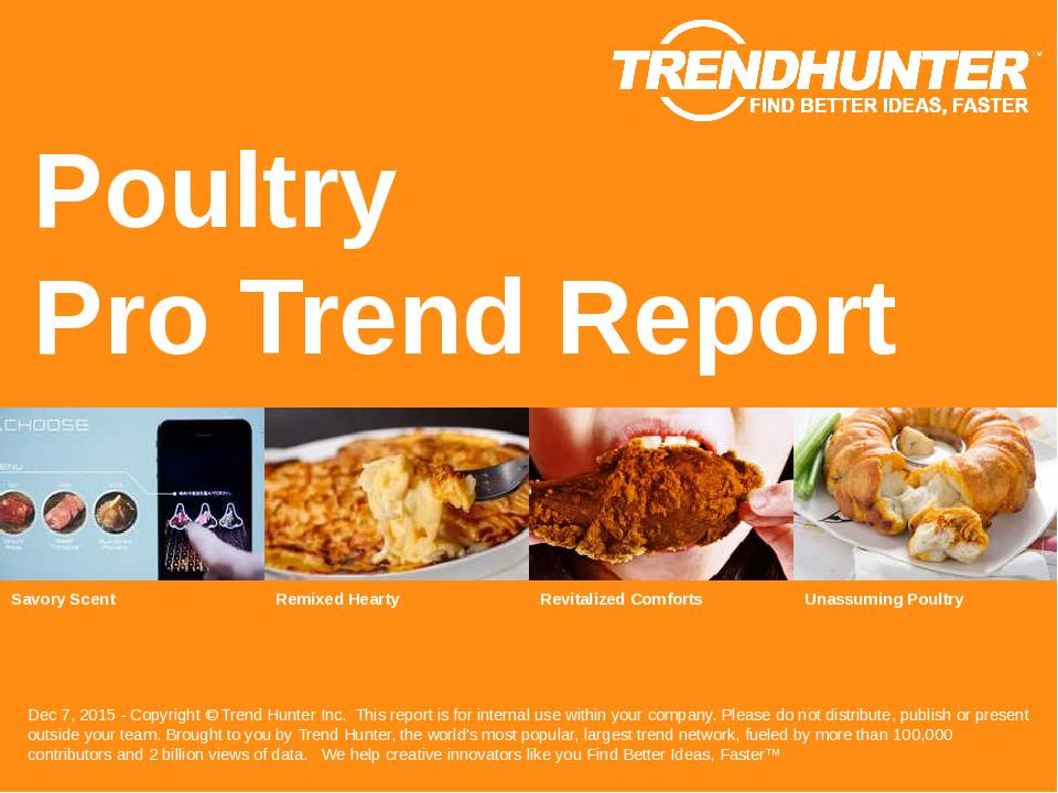 Poultry Trend Report Research