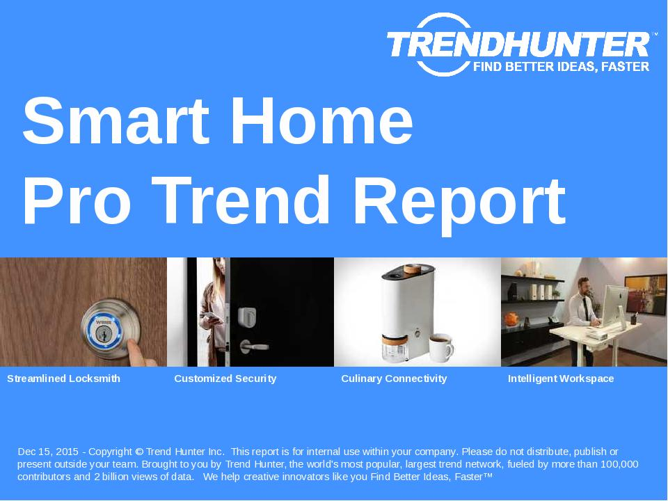 Smart Home Trend Report Research