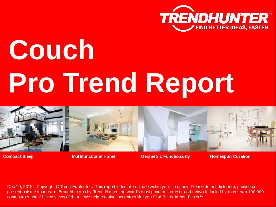 Couch Trend Report Research
