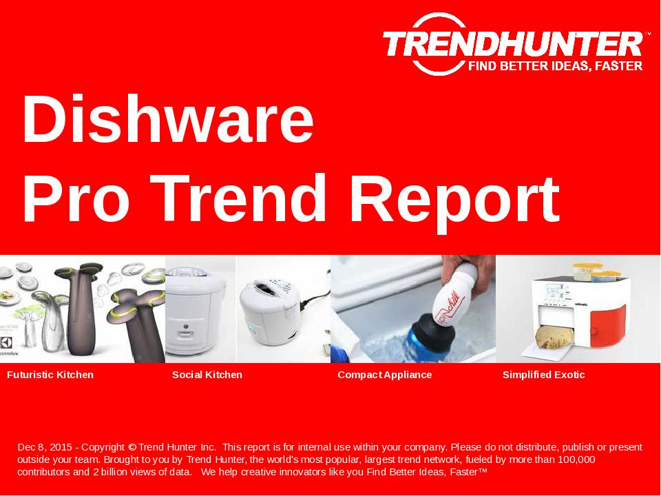 Dishware Trend Report Research