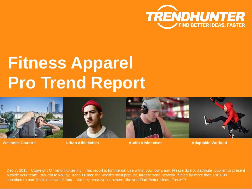Fitness Apparel Trend Report Research