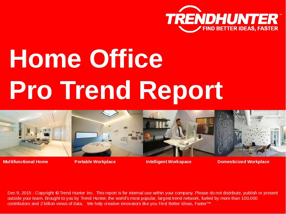 Home Office Trend Report Research