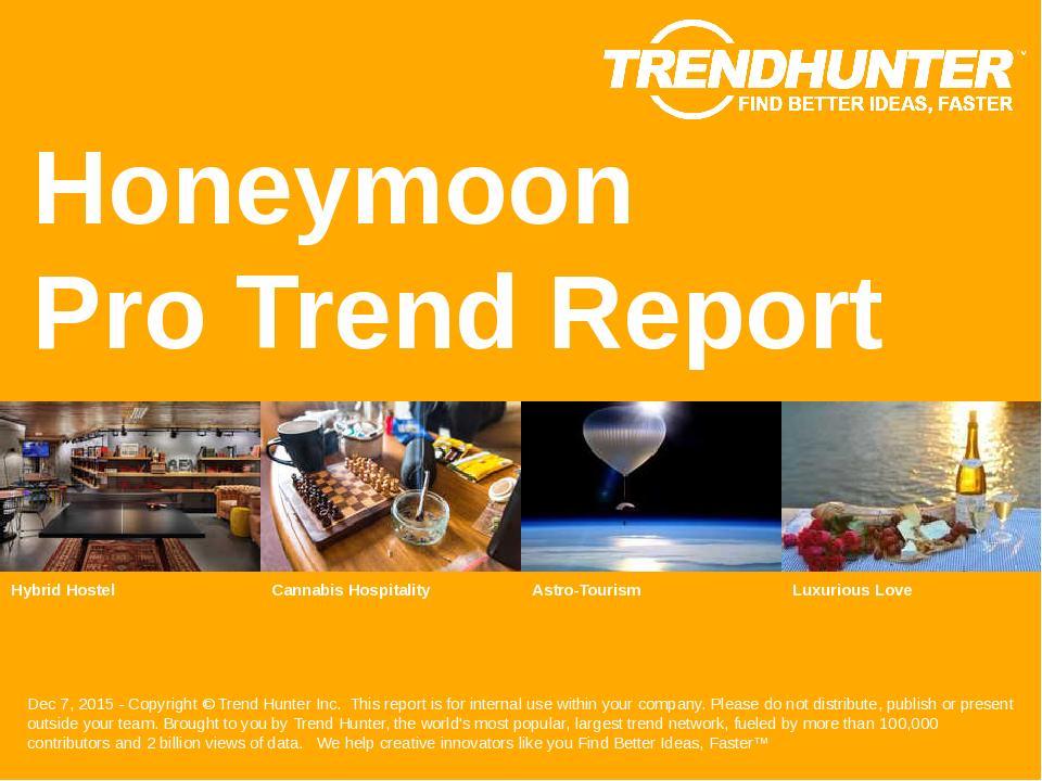 Honeymoon Trend Report Research