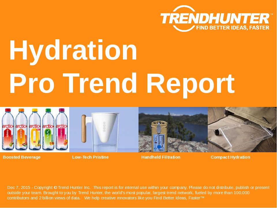 Hydration Trend Report Research