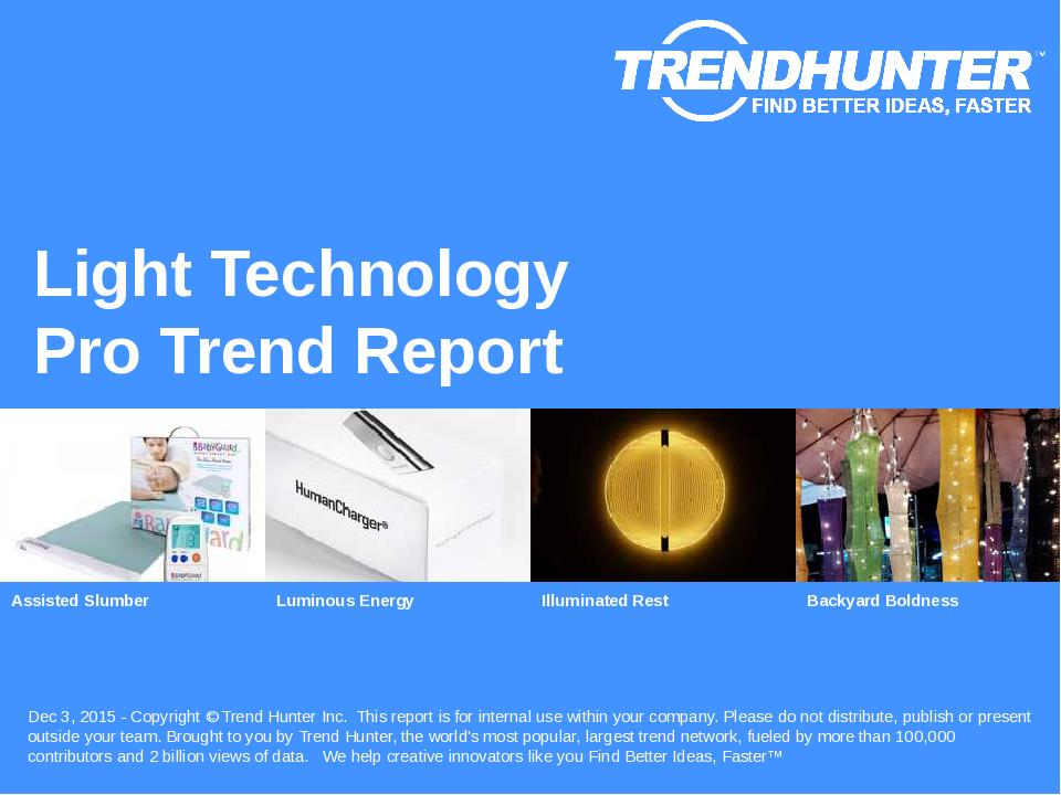 Light Technology Trend Report Research
