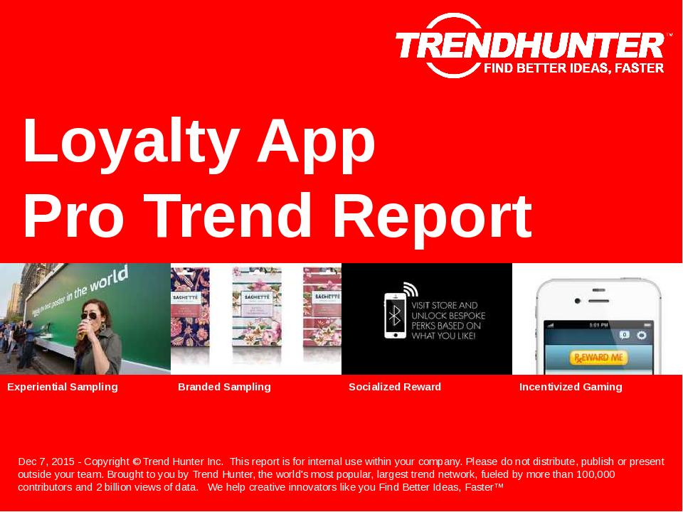 Loyalty App Trend Report Research