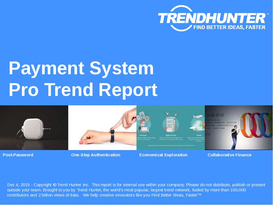 Payment System Trend Report Research