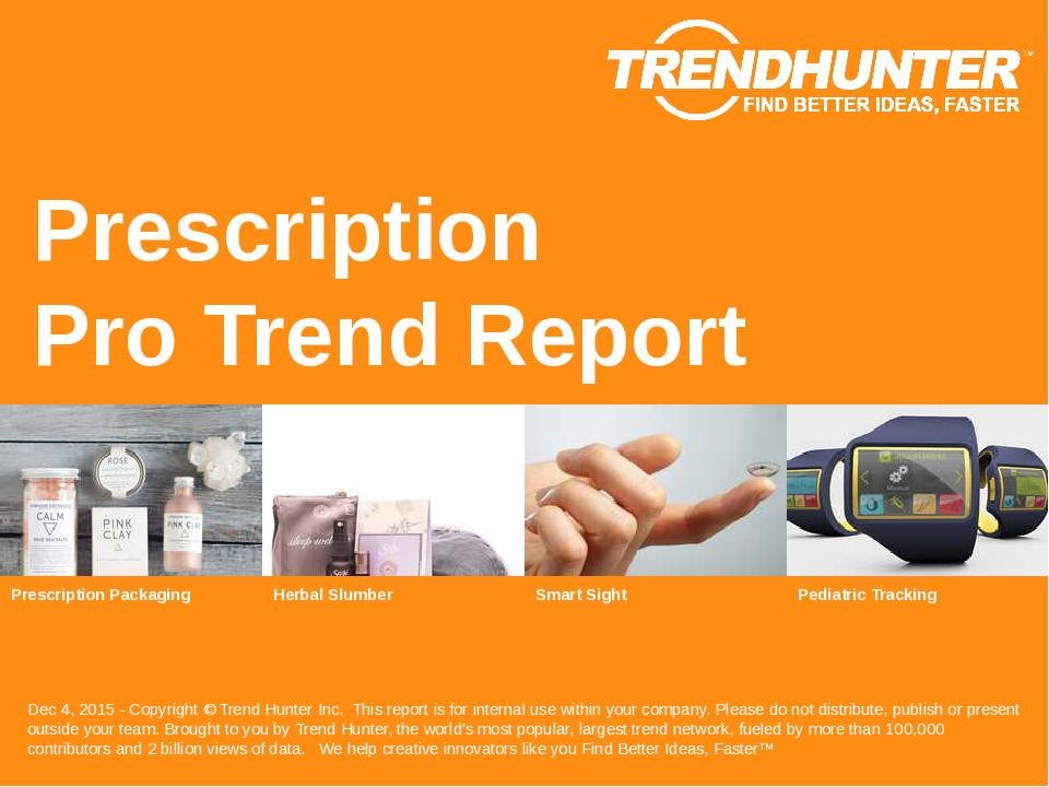 Prescription Trend Report Research