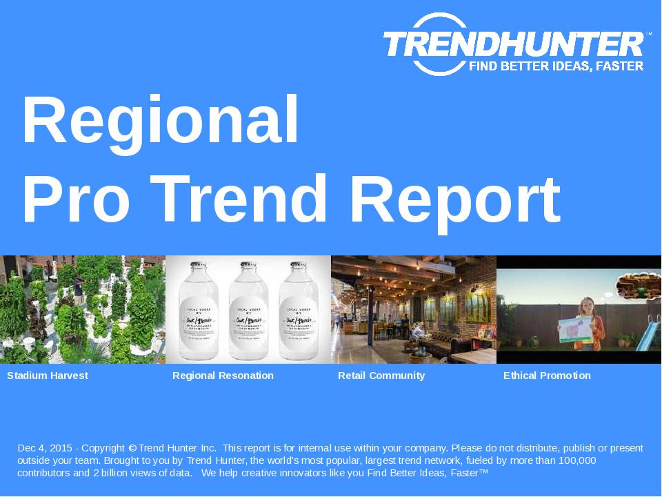 Regional Trend Report Research