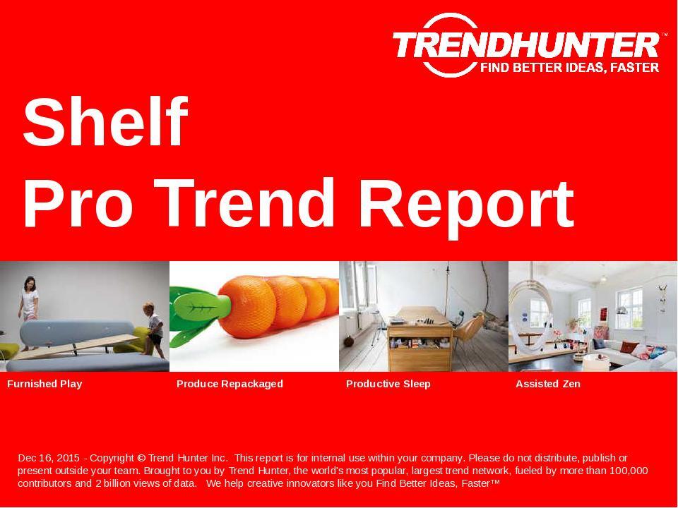 Shelf Trend Report Research