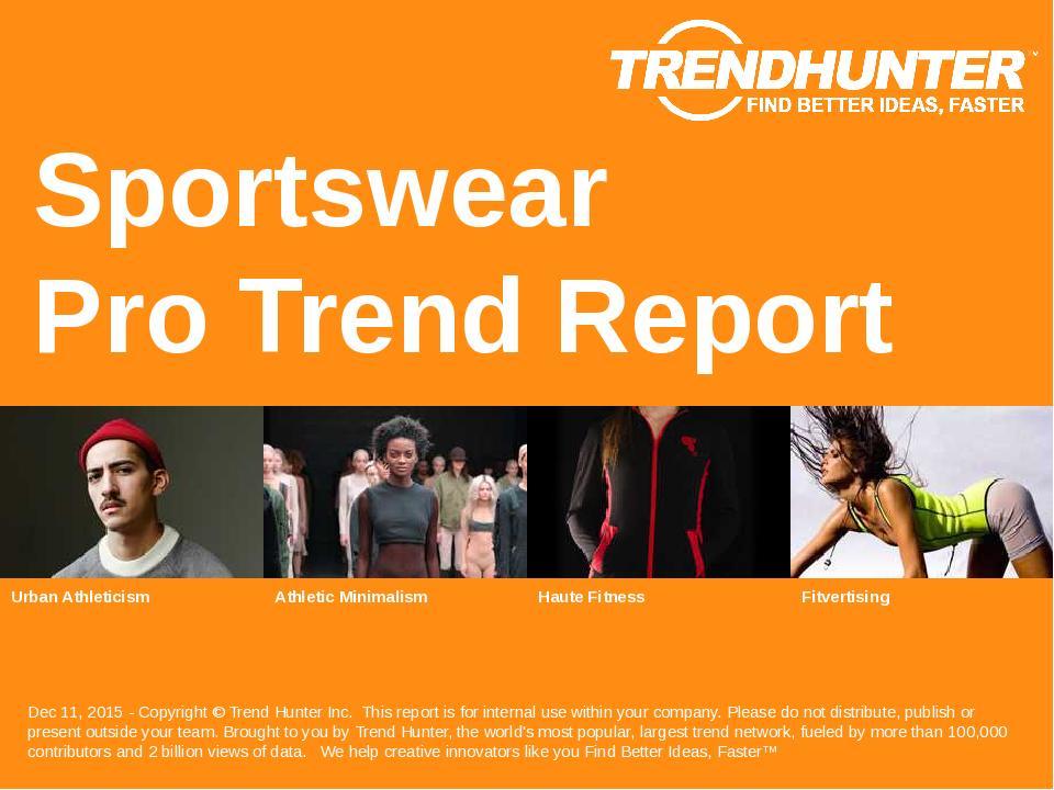 Sportswear Trend Report Research