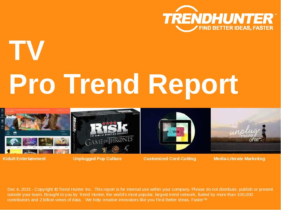 TV Trend Report Research