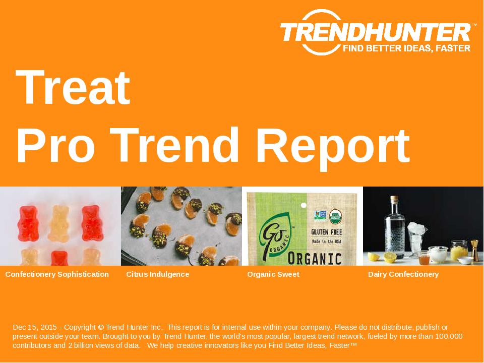 Treat Trend Report Research