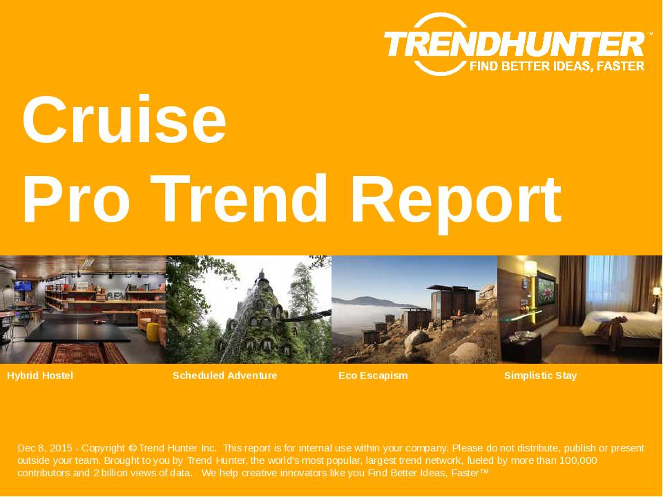 Cruise Trend Report Research