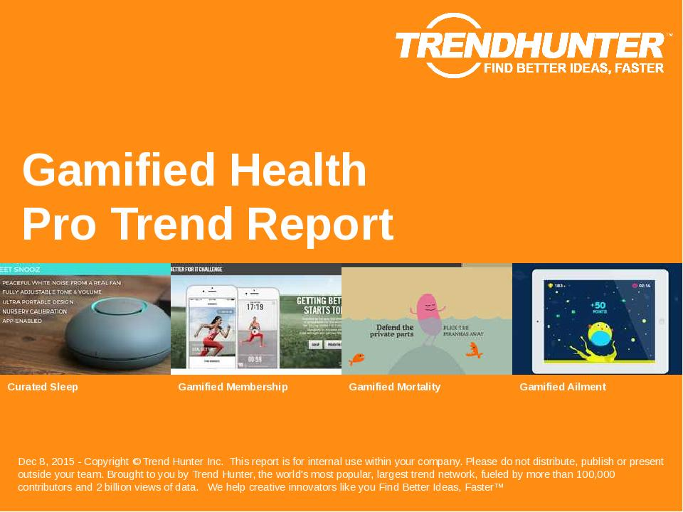 Gamified Health Trend Report Research
