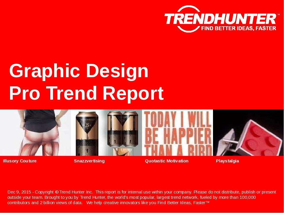 Graphic Design Trend Report Research