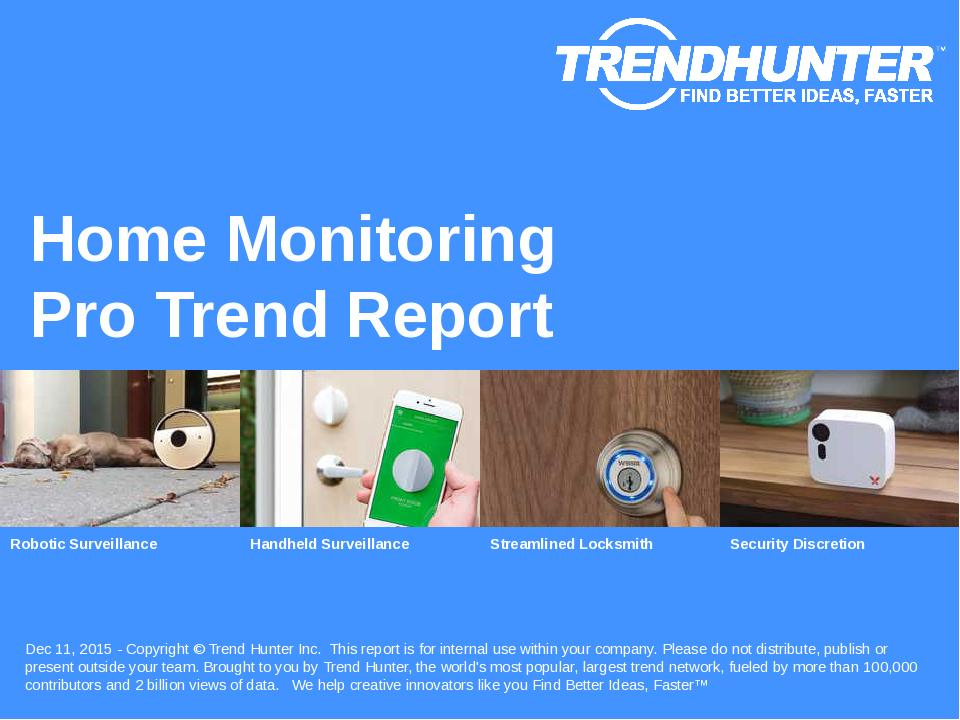Home Monitoring Trend Report Research