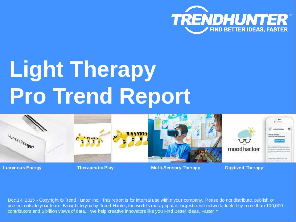 Light Therapy Trend Report Research