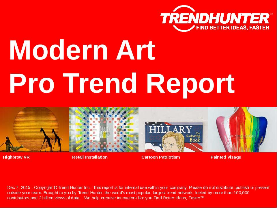 Modern Art Trend Report Research