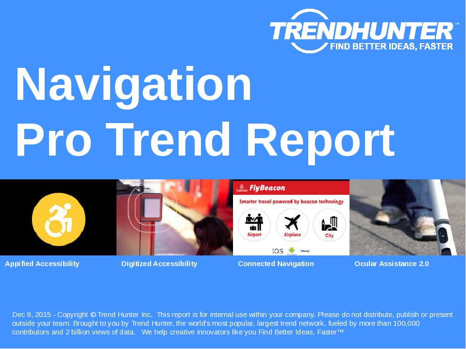 Navigation Trend Report Research