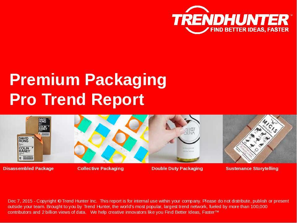 Premium Packaging Trend Report Research
