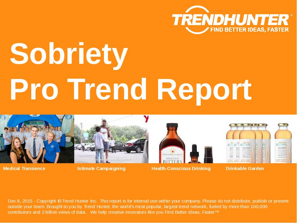 Sobriety Trend Report Research