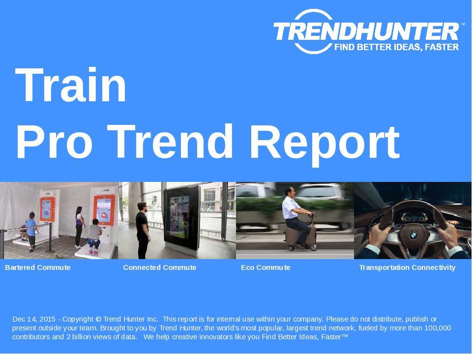 Train Trend Report Research