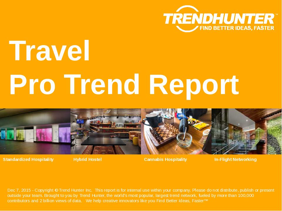 Travel Trend Report Research