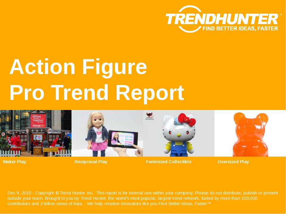 Action Figure Trend Report Research