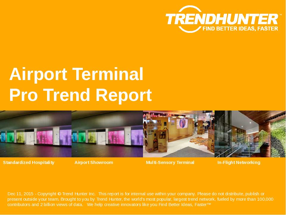 Airport Terminal Trend Report Research