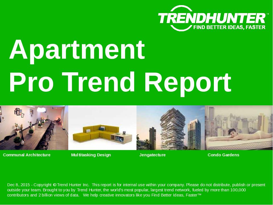 Apartment Trend Report Research