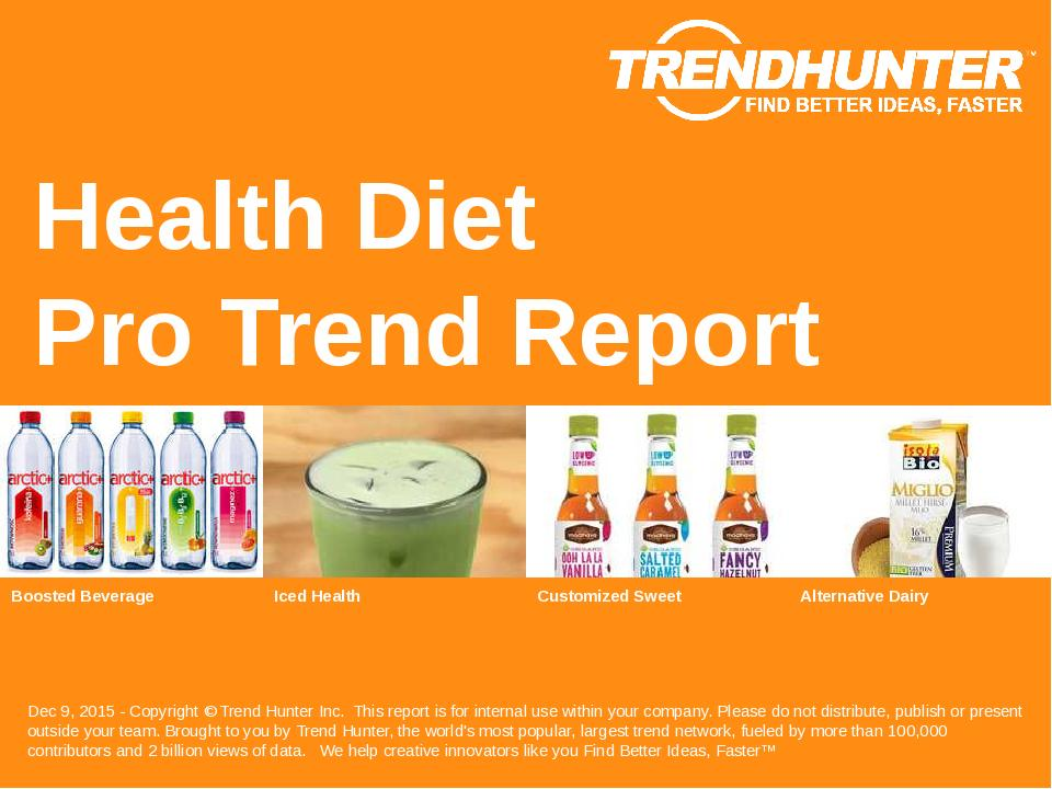 Health Diet Trend Report Research
