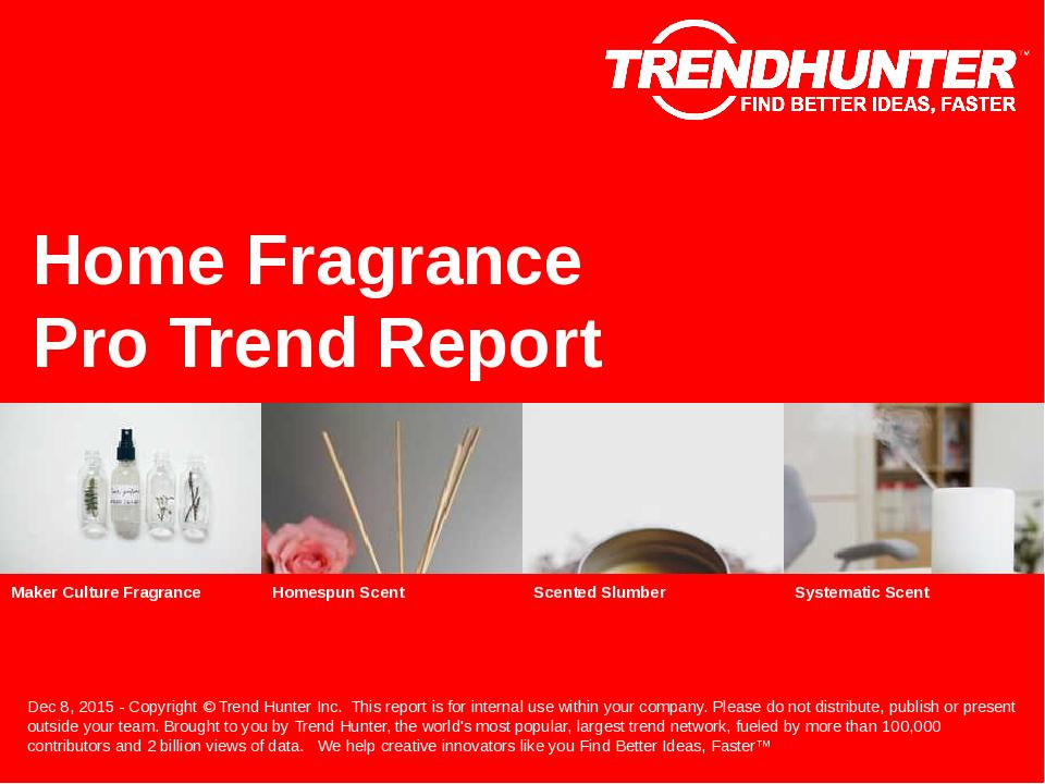 Home Fragrance Trend Report Research