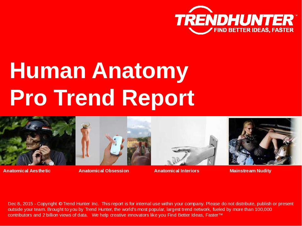 Human Anatomy Trend Report Research