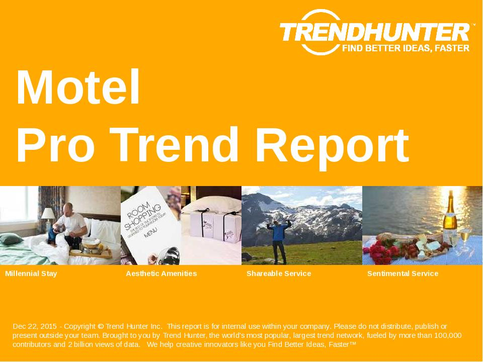 Motel Trend Report Research