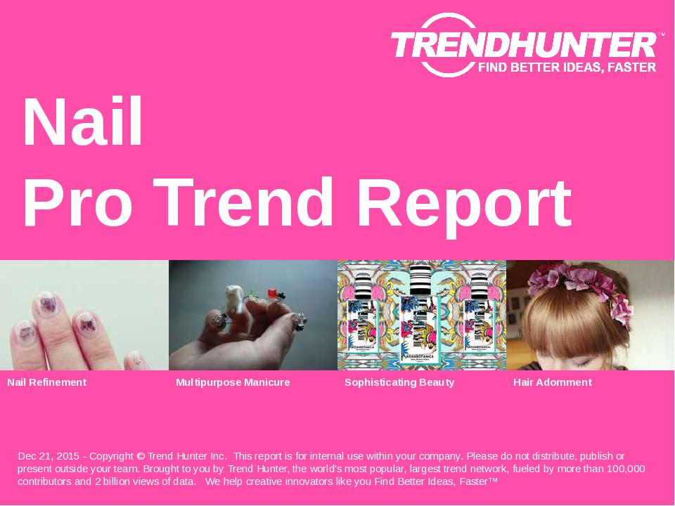 Nail Trend Report Research