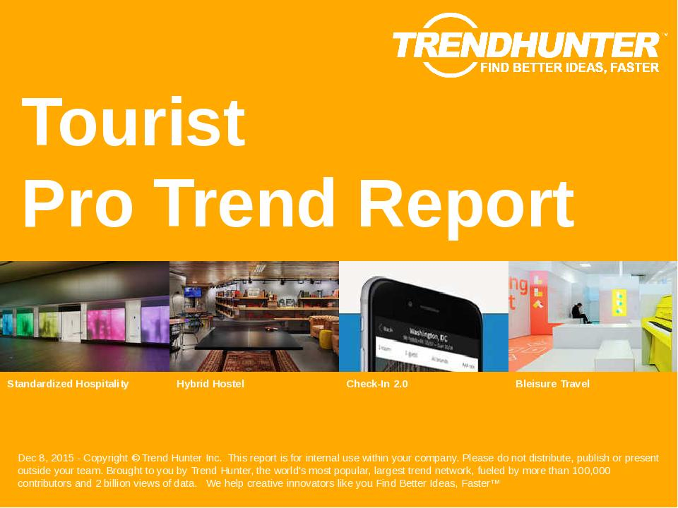 Tourist Trend Report Research