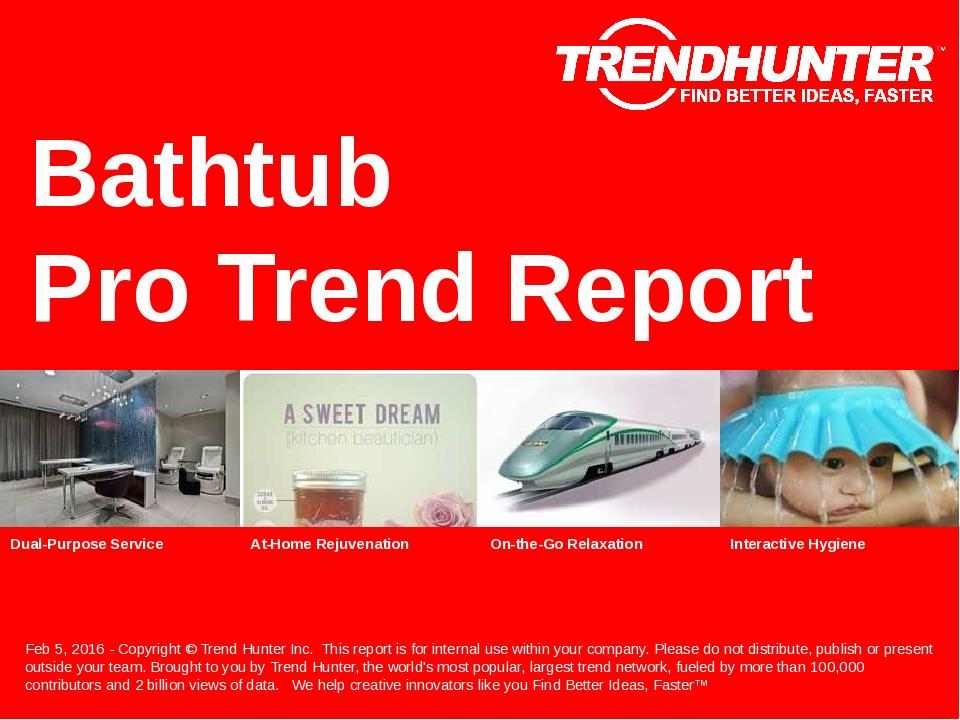 Bathtub Trend Report Research