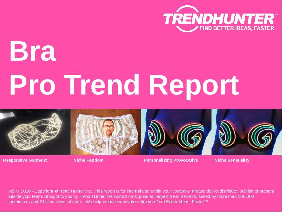 Bra Trend Report Research