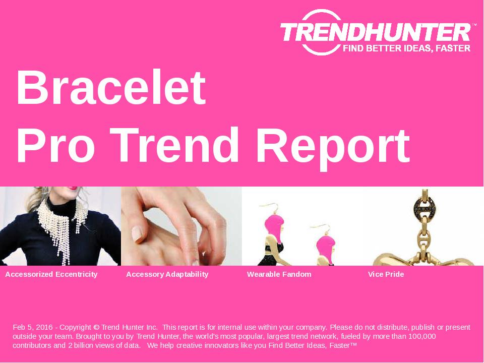 Bracelet Trend Report Research