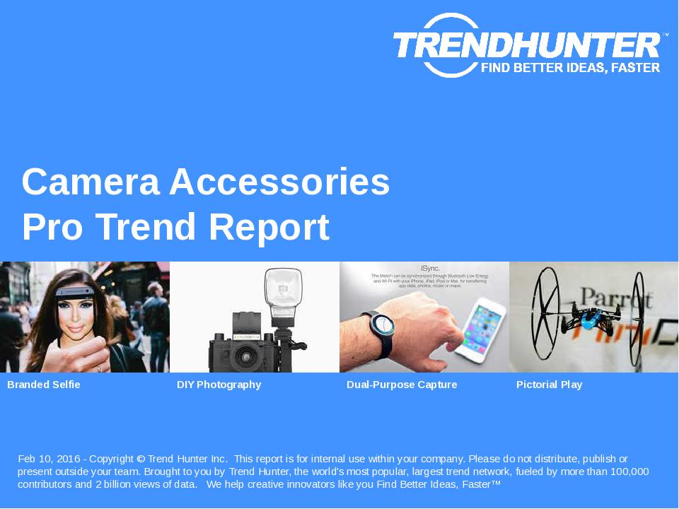 Camera Accessories Trend Report Research