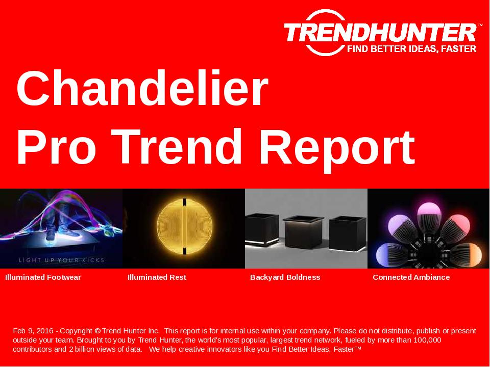 Chandelier Trend Report Research