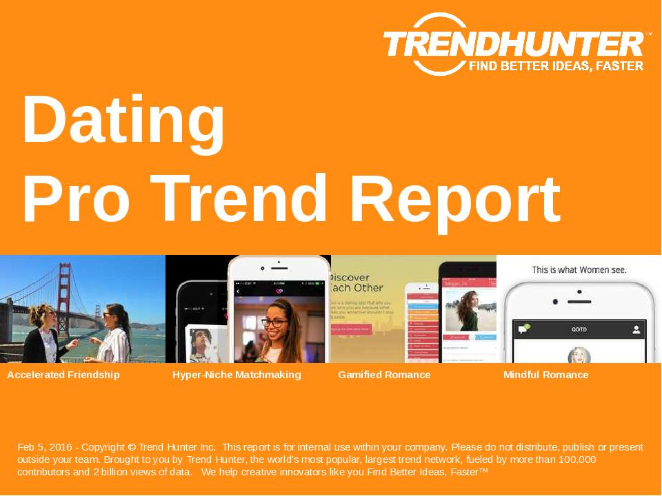 Dating Trend Report Research
