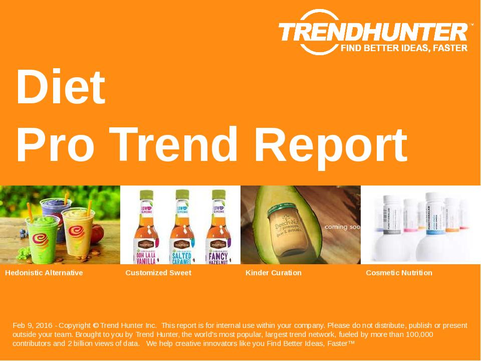 Diet Trend Report Research