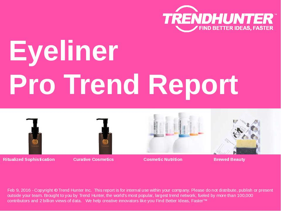 Eyeliner Trend Report Research