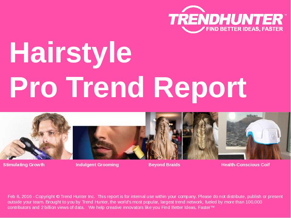 Hairstyle Trend Report Research